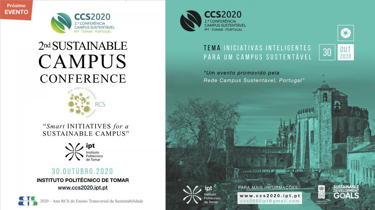 Conferência Campus Sustentável - CCS2020 - RCS - IPT Cartaz